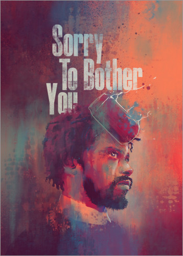 Juliste Sorry To Bother You