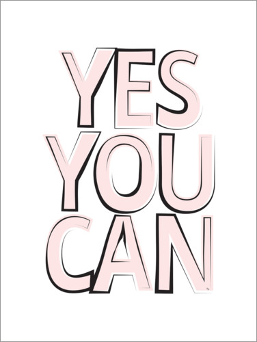 Juliste Yes You Can Quote