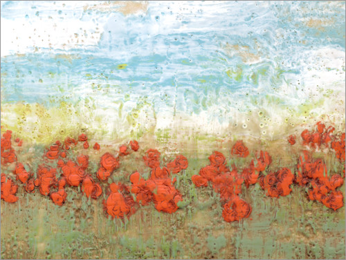 Juliste Coral poppies i