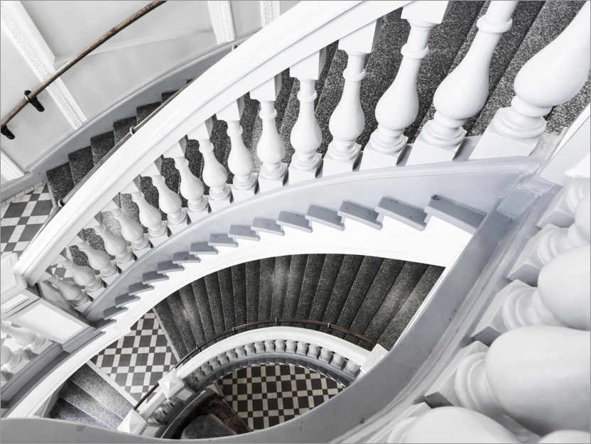 Juliste Museum stairs