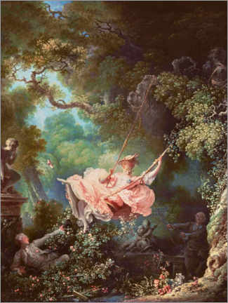 Sisustustarra  The swing - Jean-Honoré Fragonard