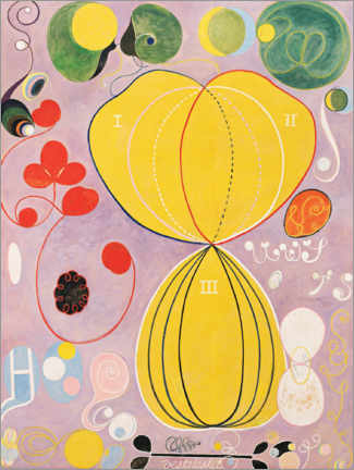 Juliste  The Ten Largest, No. 7, Adulthood - Hilma af Klint