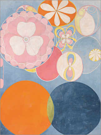 Canvas-taulu  The Ten Largest, No. 2, Childhood - Hilma af Klint