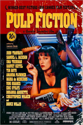 Juliste  Pulp Fiction (English) - Entertainment Collection