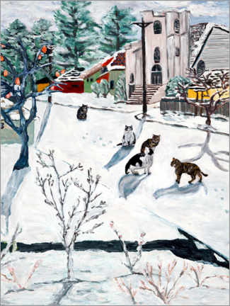 Galleriataulu  Winter - Deborah Eve Alastra