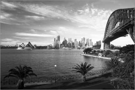 PVC-taulu  View over Sydney's landmark - David Wall