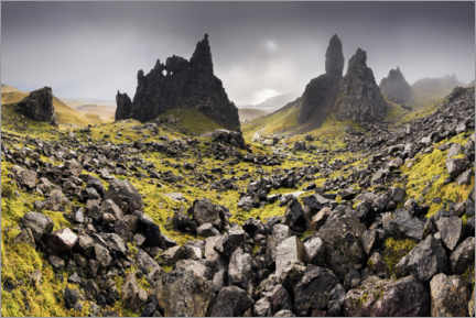 PVC-taulu  The Old Man of Storr in autumn - The Wandering Soul