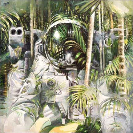 Canvas-taulu  Bamboo forest - Johnny Morant