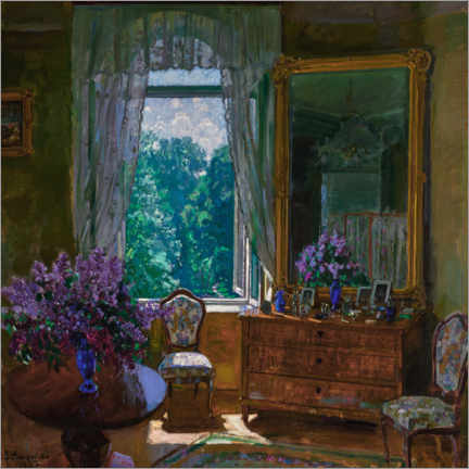 Juliste Interior with lilac