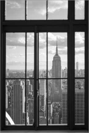 Akryylilasitaulu  Empire State Building in New York City - Jan Christopher Becke