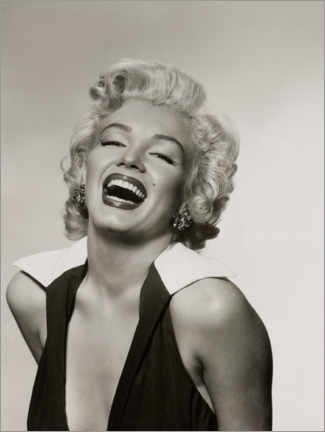 Akryylilasitaulu  Marilyn with a radiant smile - Celebrity Collection