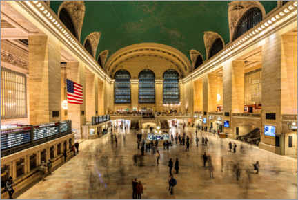 Akryylilasitaulu  Grand Central Station in New York - Mike Centioli