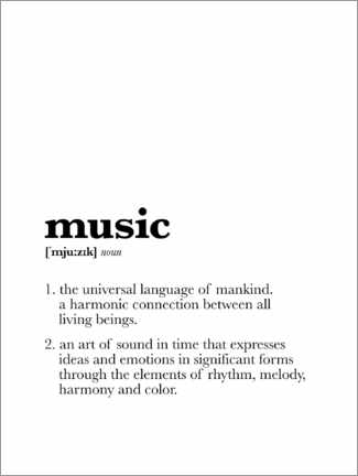 Puutaulu  Music - Definition - Michael Tarassow