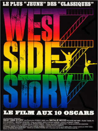 Juliste West Side Story (French)