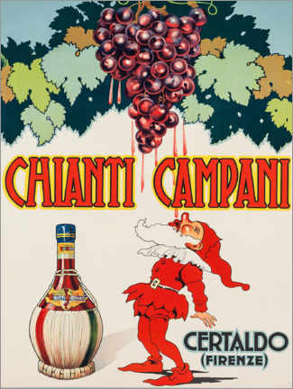 Juliste  Chianti Campani - Advertising Collection