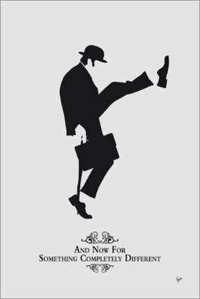 Juliste  Ministry of Silly Walks - chungkong