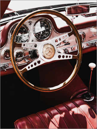 Juliste Vintage - car II