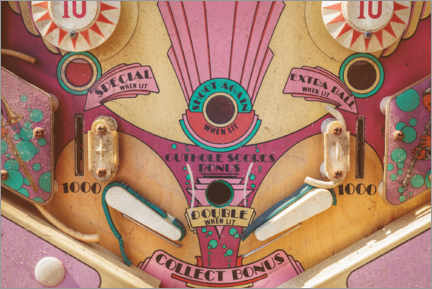 Galleriataulu  The vintage pinball machine - Martin Bergsma