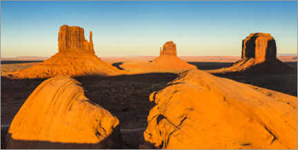 Juliste Sunset in Monument Valley