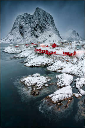 Canvas-taulu  Picturesque Hamnoy - André Wandrei