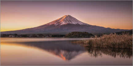 Alumiinitaulu  Mount Fuji am Tomorrow - André Wandrei
