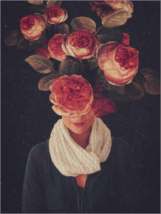 Juliste The smile of Roses