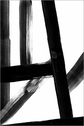 Juliste Abstract Lines