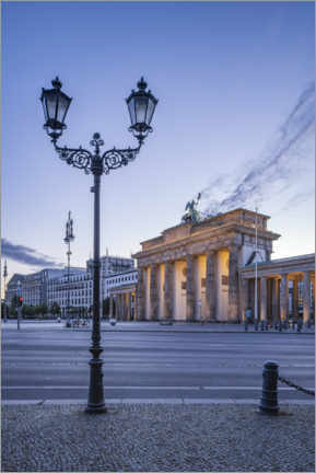 Akryylilasitaulu  Brandenburg Gate at the Place of March 18th - Jan Christopher Becke
