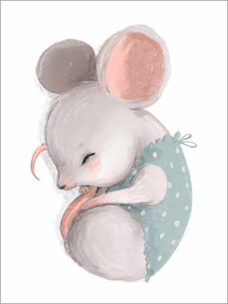 PVC-taulu  Little mice taking a nap - Kidz Collection