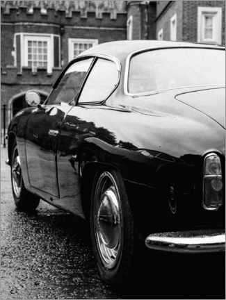 Juliste Vintage car in London
