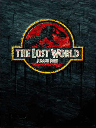 Akryylilasitaulu  The Lost World - Jurassic Park