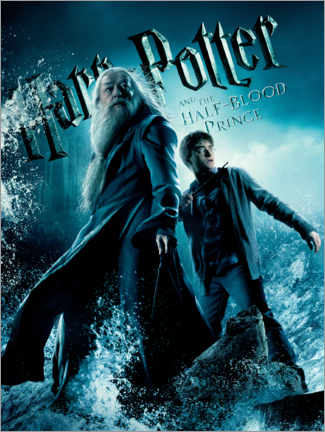 Juliste  Puoliverinen prinssi - Harry & Dumbledore