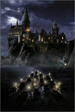 Juliste  Harry Potter and the Philosopher's Stone, Hogwarts