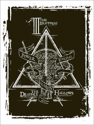 Juliste  Peverell family - The Deathly Hallows