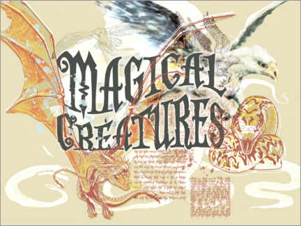 Juliste  Magical Creatures