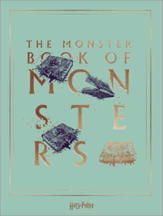 Juliste  Harry Potter - The Book of Monsters