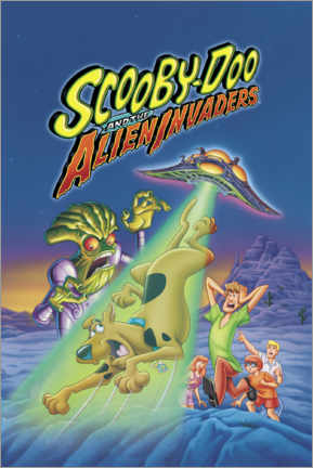 Puutaulu  Scooby-Doo And The Alien Invaders