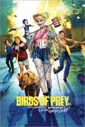 Canvas-taulu  Harley Quinn - Birds of Prey
