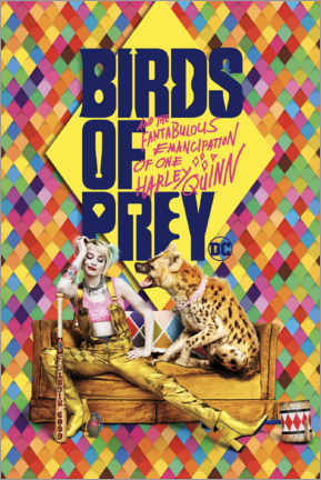 Juliste  Birds of Prey - Harley Quinn & Hyena Bruce
