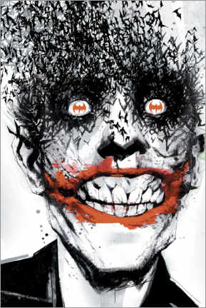 Juliste  The Joker Crazy Face