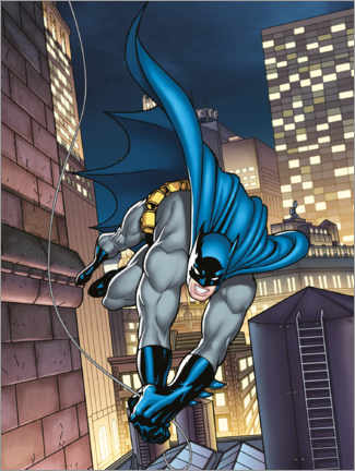 Juliste  Batman comic hero