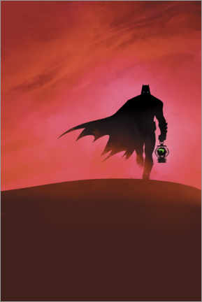 Juliste  Batman - Last knight on earth