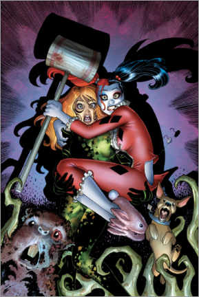 Juliste  Scared Harley Quinn