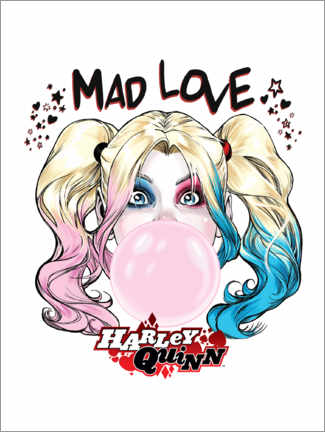 Juliste  Mad Love Harley