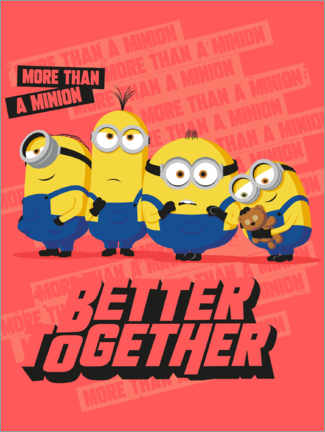 Juliste  Minions Better Together