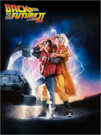 Juliste  Back to the future II