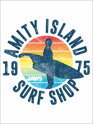 Juliste  Amity Island Surf Shop
