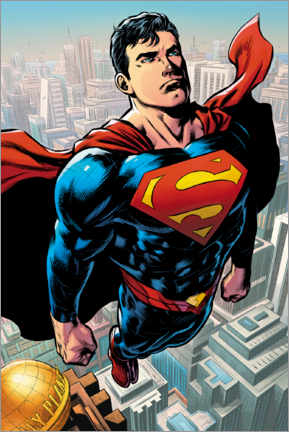 Juliste  Superman Metropolis