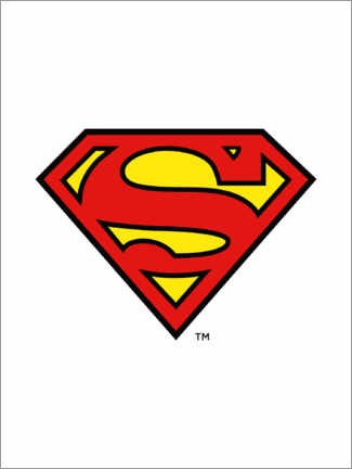 Juliste  Superman Iconic Logo