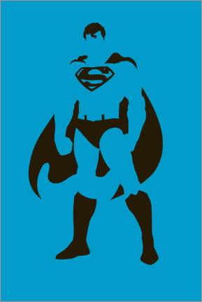 Juliste  Superman Minimal Design